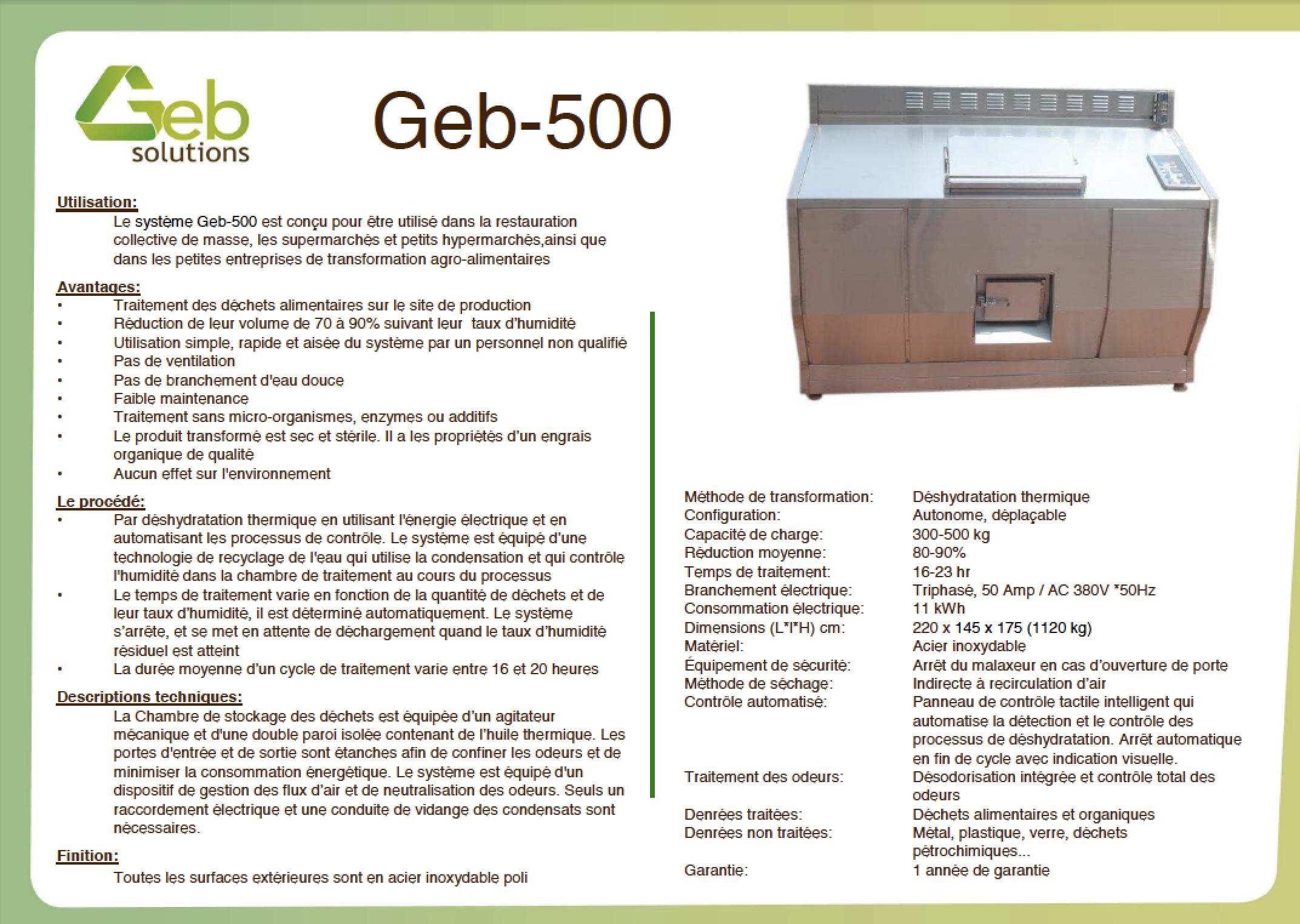 GEB 500
